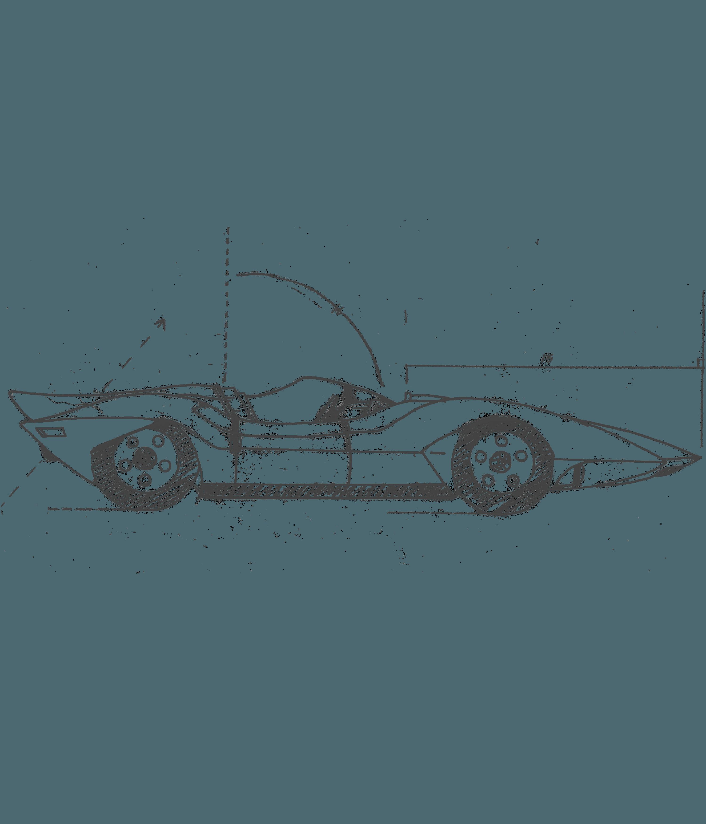 Rocket ship launching illustration